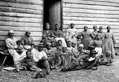 A photo of slaves
