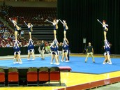 Debbie Rodgers cheer competition 2014