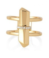 Rebel Ring M/L in Gold - £18