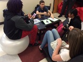 Students in the Red Room