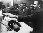 MLK funeral