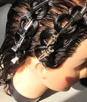 Pin Curls and Finger Waves