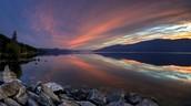 Okanogan Lake (the fualt line)