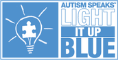 Light It Up Blue Week