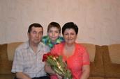 Я з бабусею та дідусем