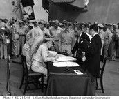 Japanese Formal Surrender