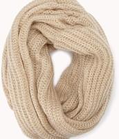 Beige infinity scarf
