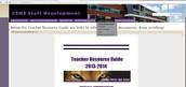 Staff Development Site
