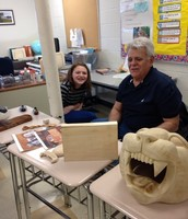 Examining some incredible finished products - go panthers!