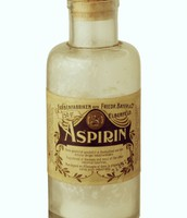 First Aspirin Bottle