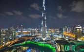 The finished Burj Khalifa