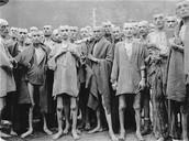 Prisoners at camp Treblinka