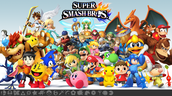 SMASH U/3ds, MELEE,  PROJECT M