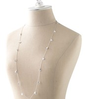 Demi Layering Necklace (silver) $29.50