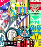 Equipos de fútbol.