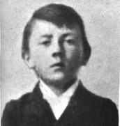 Hitler as a young boy
