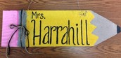 Notes from Mrs. Harrahill, Editor