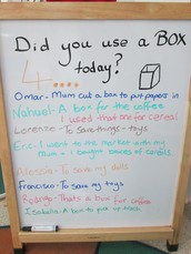 Did you use a box today?
