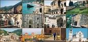 Andate a Diferenti paesi in Italia .