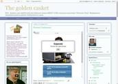 """Вэб-журнал для любителей английского языка """"The golden casket"""""""