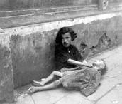 jewish girls starving in poland