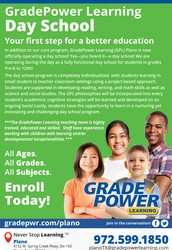 GradePower Learning Plano