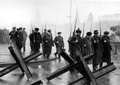 Противотанковые укрепления. 1941 г.