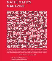 MAA's Mathematics Magazine
