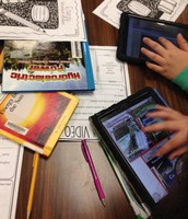 Using the iPads and Print Resources for Research