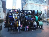 Public art at Central Park