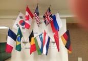 Flag Display At Holicong