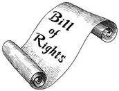 Bill of rights scroll