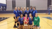 Freshman A won the Weatherford Volleyvest!