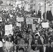 San Francisco peace march.