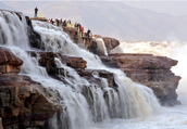 Physical feature The Hukou waterfall