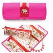 Elephant Jewelry Roll
