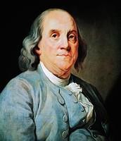 Ben Franklin as a adult