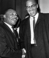 Malcom X and MLK's first and only meeting