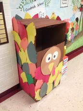 "Stuff the Turkey! From November 2-Novemerb 20th Goodrich school will be running a food drive. First graders are asked to bring in ""powdered or canned beverages"". Thanks in advance for your support to ""Stuff the Turkey""!!"