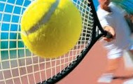 New tennis court