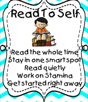 What do I do When I Read to Self?