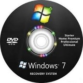 2.Insert the windows installation disc.