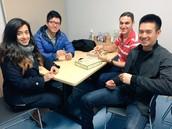 Samsung Mentors Afrand Razian, Eddie Huong, Vicken Frankien & Matt Ultranasorn at Pioneer Crossing Elem