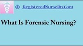 What is a Forensic Nurse?