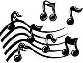 la banda y el orquestra y el coro