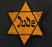 The yellow Jew star