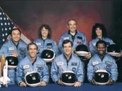 The crew on the last flight