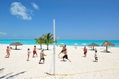 Beach Volleyball at Montague Beach