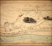 Map of Erie Canal