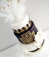 Gatsy-inspired Cake